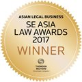 ALB SE Asia Law Awards 2017 Winner