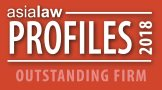 Asialaw Profiles Outstanding Firm 2018